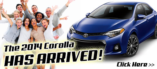 2014 Toyota Corolla is here!