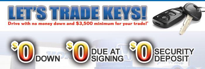 Let's Trade Keys!
